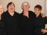 Left to Right: Chari Tyler, Randy Parrish-Bell, Patsy Roeder, Anne Colt