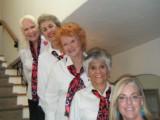Top to Bottom: Faith Lawrence, Mayra Bee, Karen Hasman, Lisa Hohman, Christine