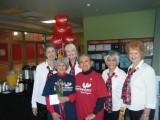 Left to Right: Mayra Bee, Unknown (Valentine recipient), Faith Lawrence, Unknown (Valentine recipient), Lisa Hohman, Karen Hasman