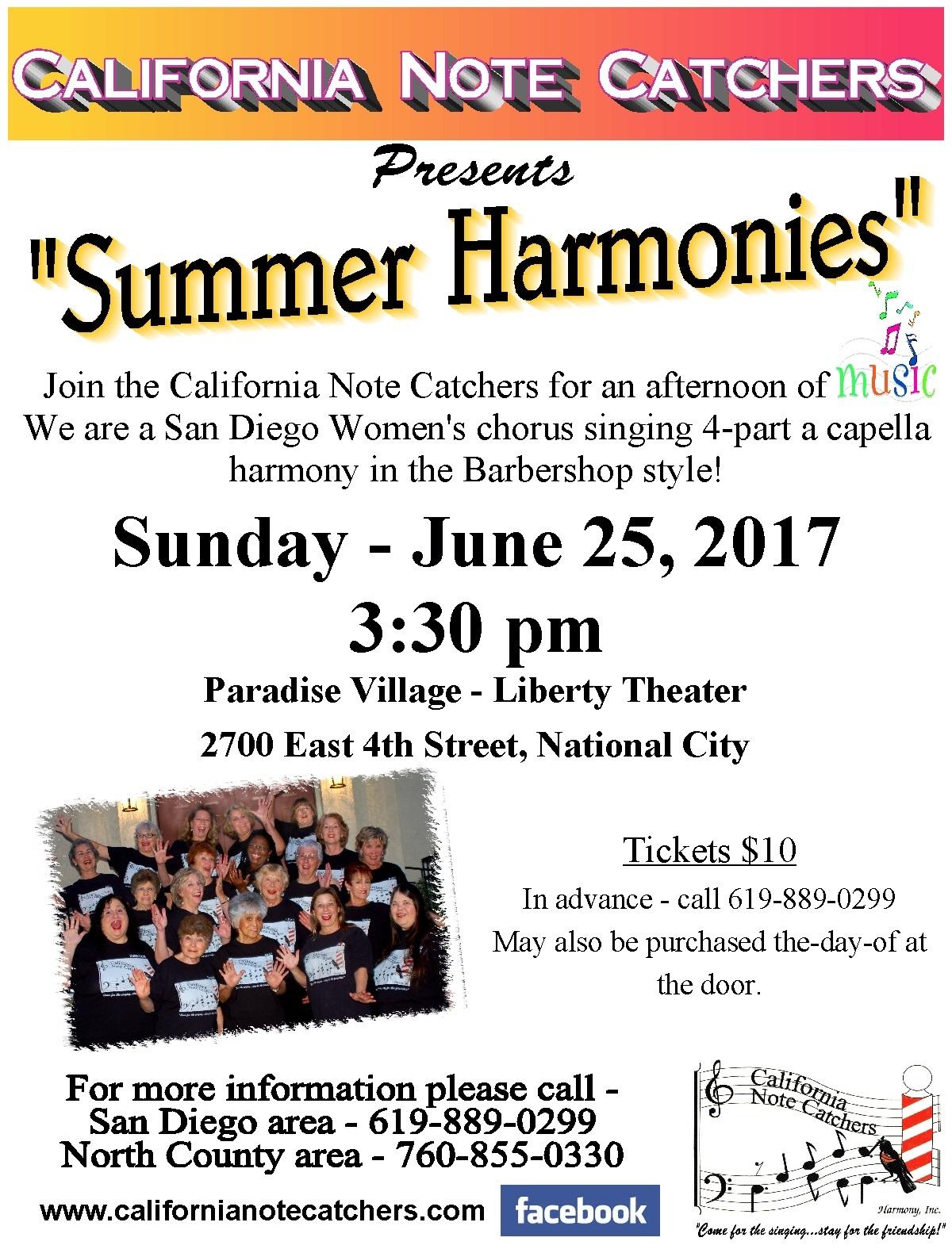 2017_Summer Harmonies